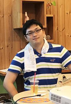 Shojinmeat Project(ショウジンミート・プロジェクト)による取り組みを紹介する田中さん