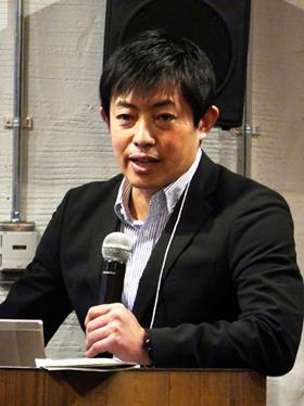 企画のテーマとSDGsについて話をした田瀬和夫氏
