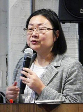 立命館大学食マネジメント学部の阿良田麻里子教授