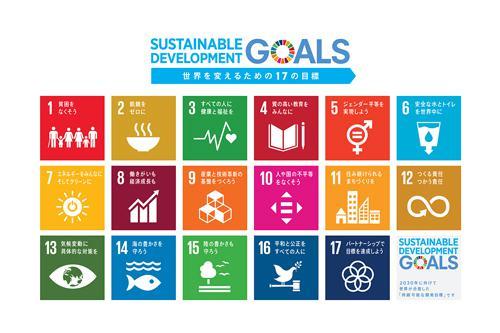 画像1 SDGsの17の目標(提供・国連広報センター)