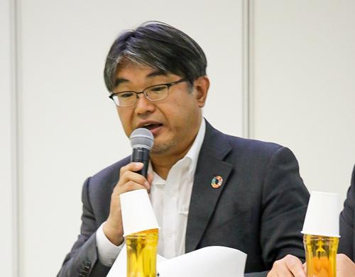 写真2 JST「科学と社会」推進部・部長の荒川敦史さん