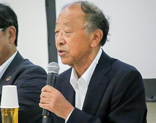 写真4 前橋総合技術ビジネス専門学校校長の小島昭さん