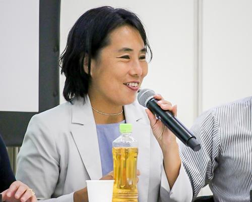 写真6 Japan Innovation Networkディレクターの小原愛さん