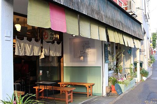写真1 会場となった千駄木の「さんさき坂カフェ」