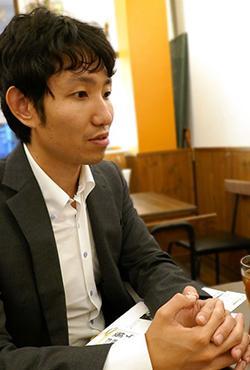 写真7 WEcafe副代表の熊谷現さん
