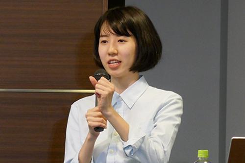 写真1 講師の内田めぐみさん