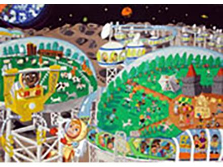 宇宙の日・小中学生作文絵画コンテストの入選者決定