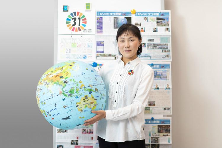 京都大学 大学院地球環境学堂 准教授 浅利美鈴さん