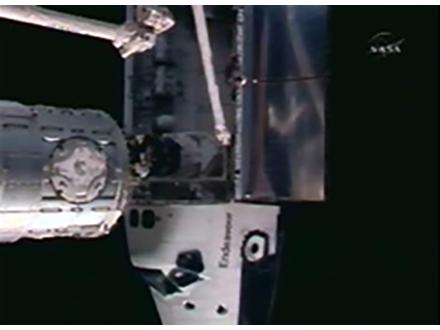 国際宇宙ステーションとドッキングへ