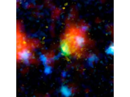星を量産している銀河発見