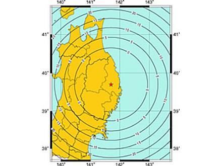 岩手県震度6強の地震、緊急地震速報間に合わず
