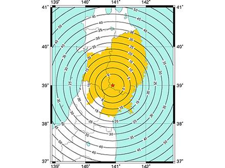 岩手・宮城内陸地震で緊急地震速報の効果も