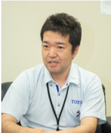 TOTO株式会社 ウォシュレット開発第三部 包装・印刷物グループ 佐藤賢志さん