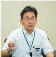 TOTO株式会社 ウォシュレット開発第三部 包装・印刷物グループ 参与 青柳尚樹さん
