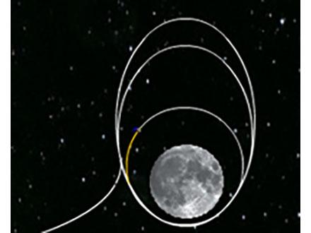 米探査機月に水の存在証拠つかむ