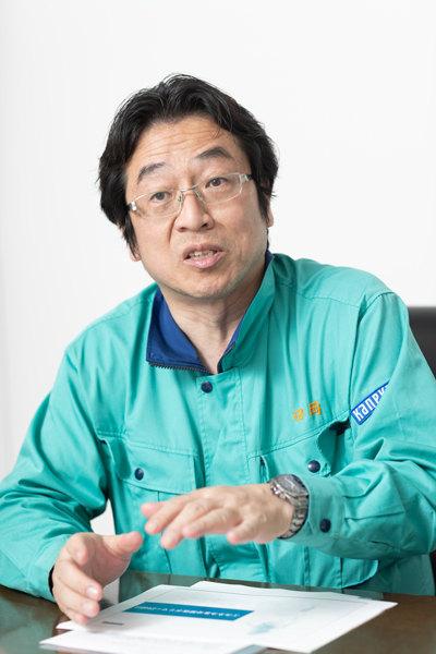 株式会社カネカ 高砂工業所 バイオテクノロジー研究所 バイオプロダクツ研究グループ リーダー 田岡直明さん