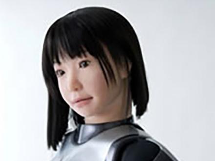 外見もそっくりなヒト型ロボット開発