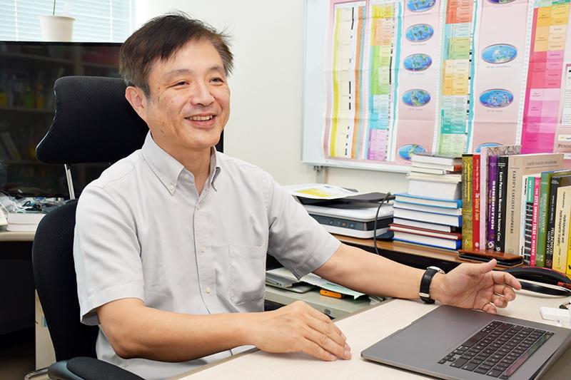 チバニアン申請グループの代表を務めた岡田誠さん ※画像提供:茨城大学