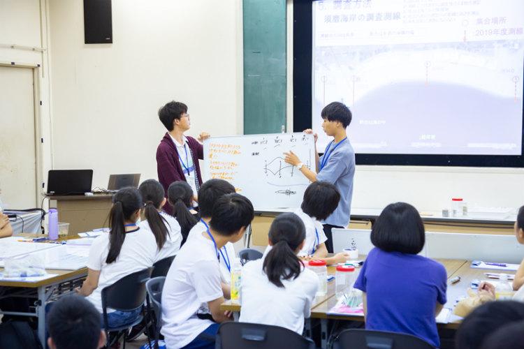④ 測定結果から推測できる結論を各班が発表。