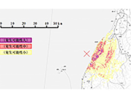 国土地理院が山形県沖地震で5センチの地殻変動を観測 地滑りへの警戒呼びかける