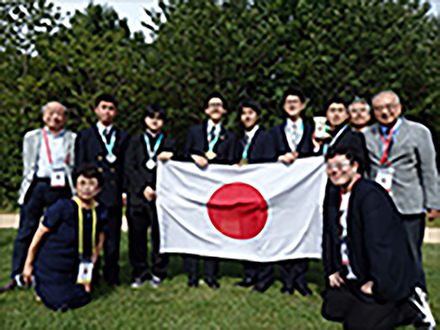 国際情報五輪日本代表高校生が金1、銀3のメダル獲得