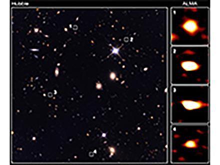 これまで見えなかった110億年も昔の銀河が見えた アルマ望遠鏡で東大、国立天文台が観測