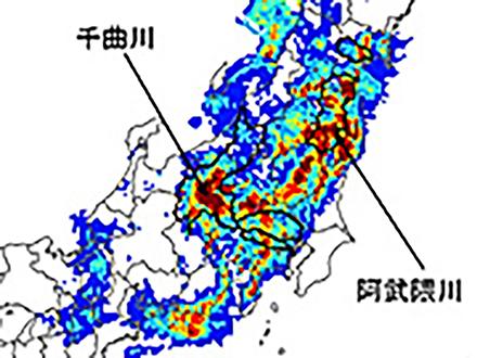 阿武隈川・千曲川は「100年に1度」の大雨 防災科研が解析 国交省が決壊箇所を調査