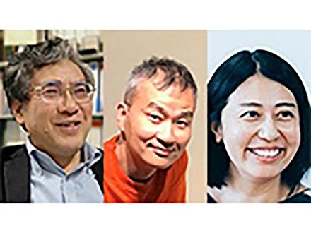 今年の仁科記念賞に超伝導研究の岩佐氏とニュートリノ観測の吉田、石原の両氏に