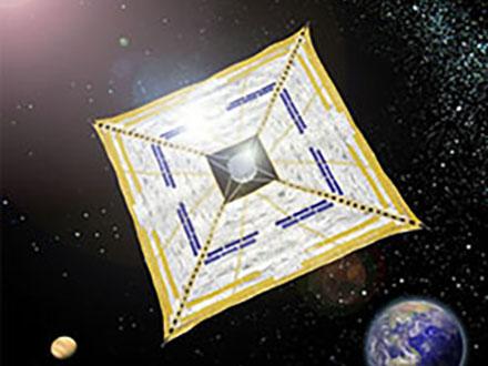 世界初の宇宙ヨット「イカロス」ギネス認定