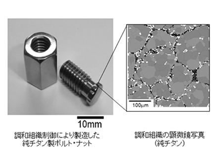強くてしなやかな金属の新創製法を開発