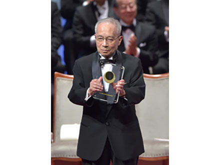 日本国際賞授賞式開く 受賞3氏それぞれの謝辞