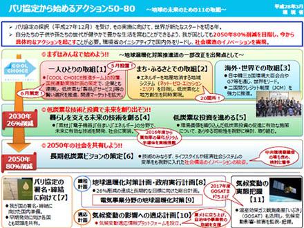パリ協定11月にも発効 日本は今国会で審議へ