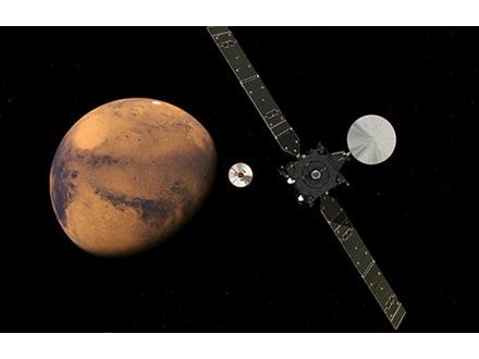 ESAとロシアの火星探査機火星到達 着陸機とは交信できず