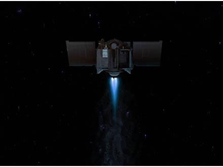 米探査機が地球公転軌道上の新小惑星を探し活動中