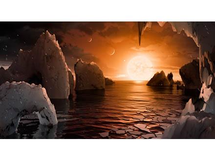 若かりしころの太陽系とよく似た「ミニ太陽系」が見つかった