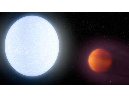 熱い熱い惑星を発見 4,300度で史上最高