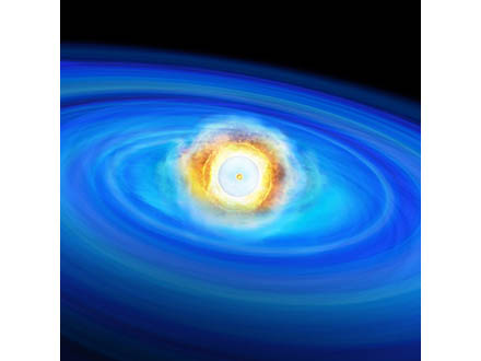 その白色矮星は、表面の爆発が最期の引き金になった