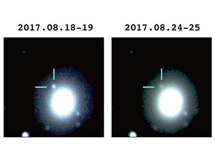 日本の観測チームが「重力波」の源を世界で初めて光で捉えた