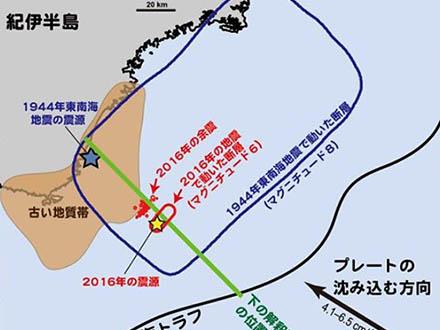 東南海で起きている地震と巨大地震の関係が分かってきた