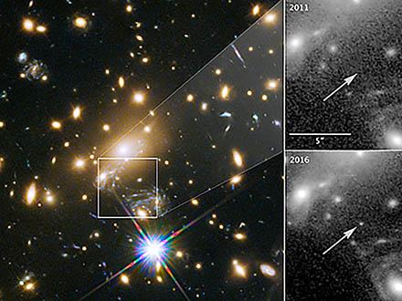単独の星としては最遠90億光年先の星を観測 東京大など国際チーム