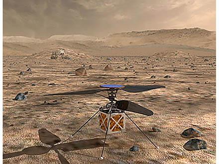 火星が15年ぶりの地球大接近 31日に最接近