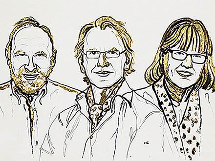 ノーベル物理学賞は、レーザーの画期的な利用法を開発した米国などの3氏に 女性の物理学賞は55年ぶり3人目