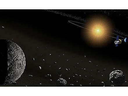 17の小惑星に水が存在する証拠 神戸大、JAXAが衛星「あかり」のデータ解析