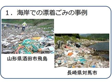 「排出されるプラスチックごみを減らすことが基本」「各国政府が集まって新しい対策の国際枠組みが必要」
