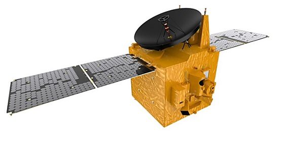 火星探査機「HOPE(ホープ)」の想像図(ムハンマド・ビン・ラシード宇宙センター提供)