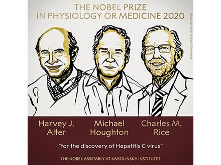 C型肝炎ウイルスを発見、ノーベル医学生理学賞に米・カナダ3氏