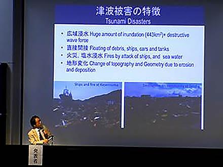 サイエンスニュース2011(新着情報) (1)東日本大震災 土木学会調査団緊急報告会開催