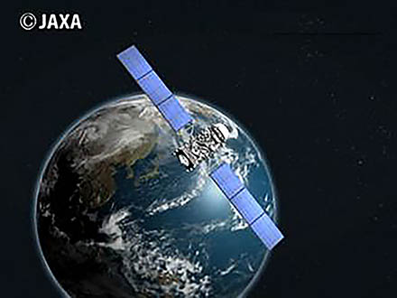 サイエンスニュース2011(新着情報) (19)災害時の衛星利用〜準天頂衛星「みちびき」の試み〜
