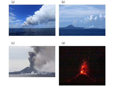 調査船で噴火後の西之島火山を初観測