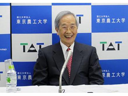 スタチン発見の遠藤氏がガードナー国際賞受賞 東京農工大で喜びの記者会見